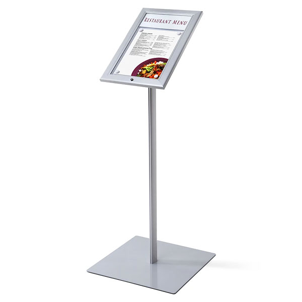 Menu Board A4 med LED og Lås