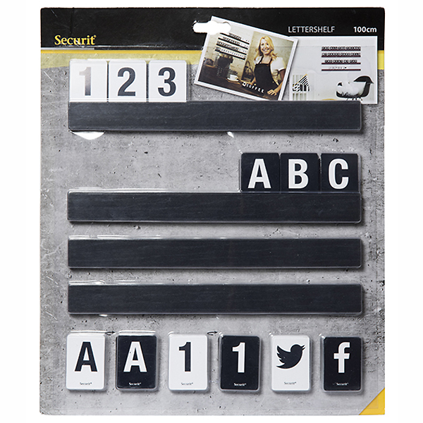 Letter shelf sort 100 cm