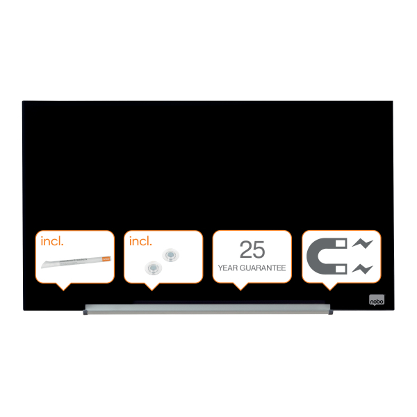 Whiteboard glastavle Nobo Widescreen 31