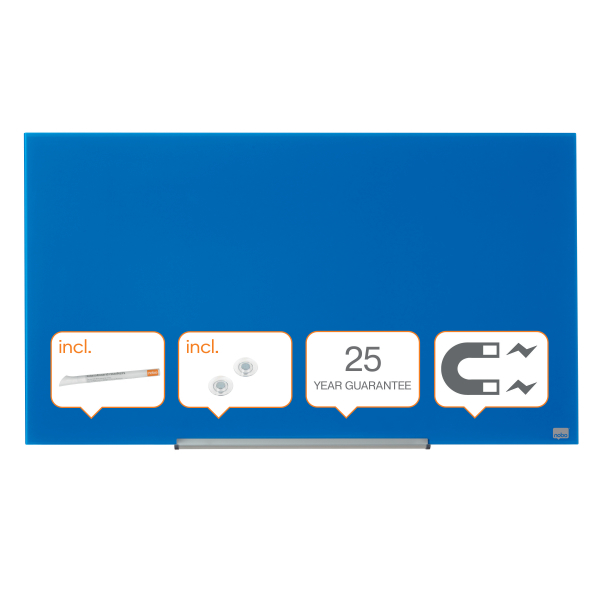 Whiteboard glastavle Nobo Widescreen 45