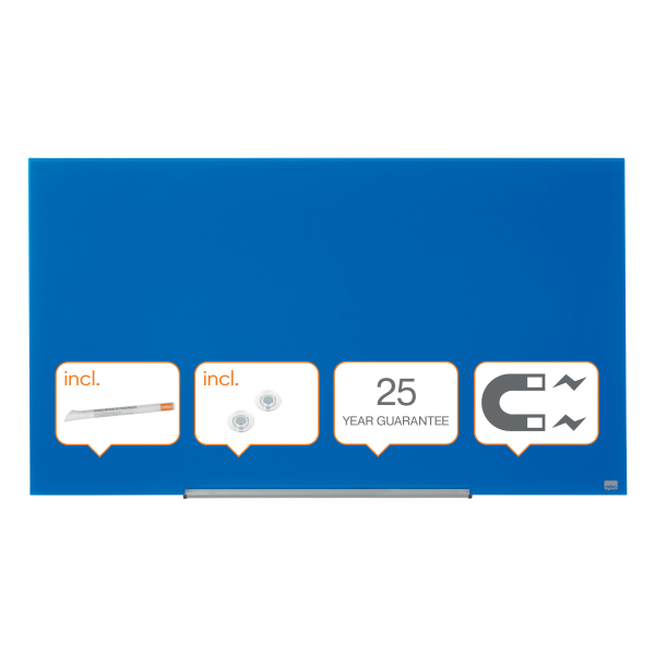 Whiteboard glastavle Nobo Widescreen 57