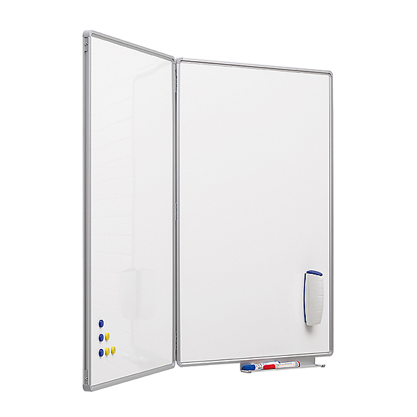 Whiteboard PROFESSIONEL fold-ud x 3