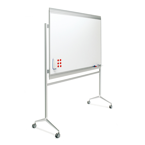 Whiteboard Design på hjul PROFESSIONEL