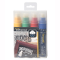 4 farvede kridt marker penne 15 mm Waterproof