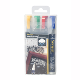4 farvede kridt marker penne 6 mm Waterproof